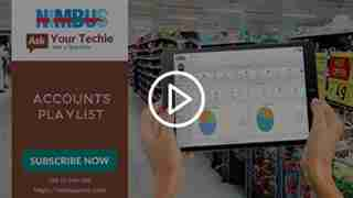 video tutorial about handling accounts in Cloud retail software