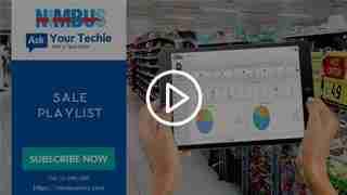Cloud Point of Sale video tutorials- Sales