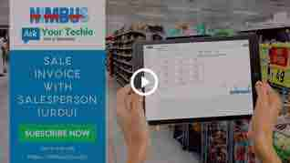 How to sell products: attaching salesperson to Sale-Invoice