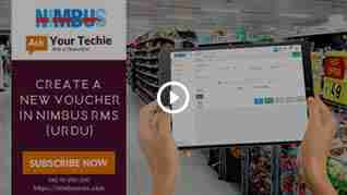 Online pos accounting: How to create a New-Voucher