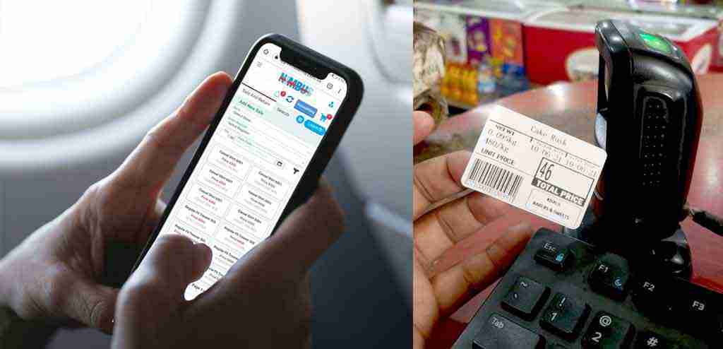 Scan the Weighted Barcode at the POS
